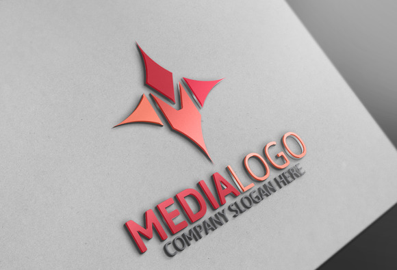 Media Logo M Letter