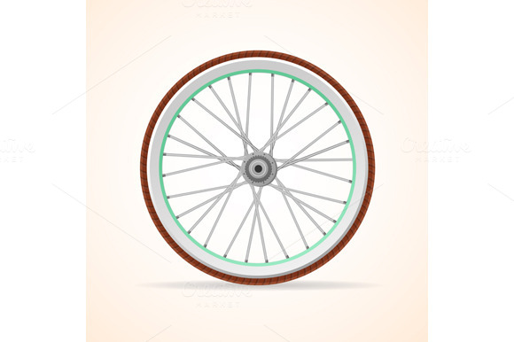 Vector Bicycle Wheel Set