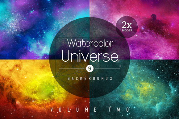 Watercolor Universe Vol 2