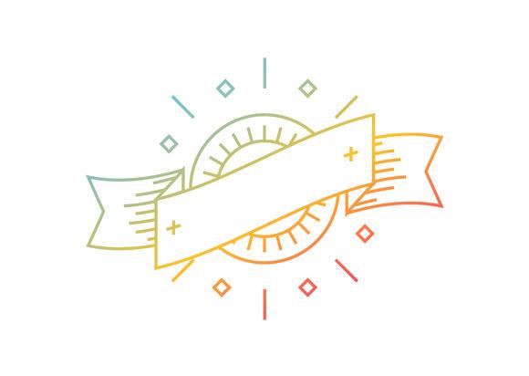 Vector Linear Logo Template