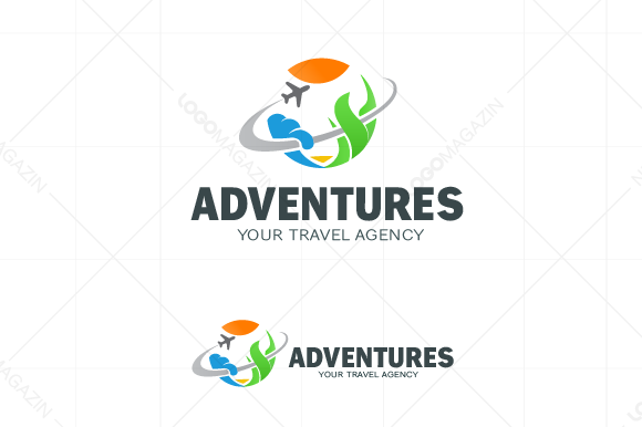 Travel Logo Adventure Journey