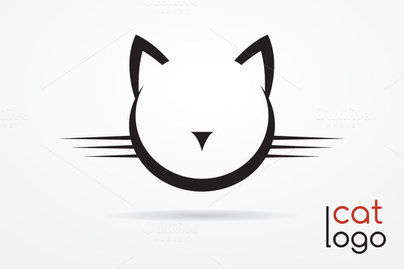 Cat Logo Set