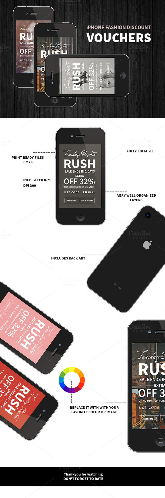 IPhone Fashion Discount Voucher