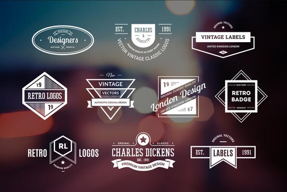 10 Retro Logos Vol 17