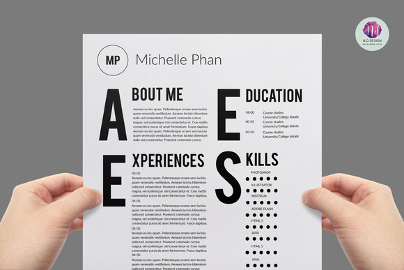 CV Template Cover Letter Template