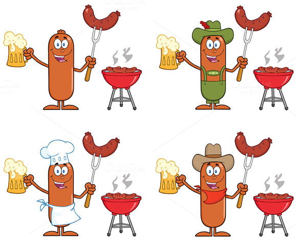 Sausage Character Collection 10