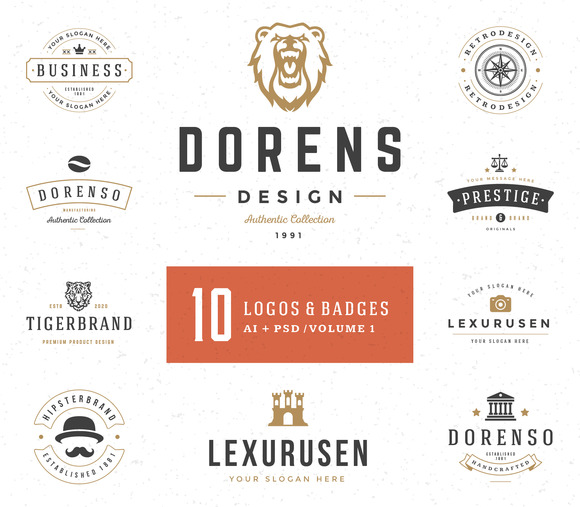 10 Logos And Badges