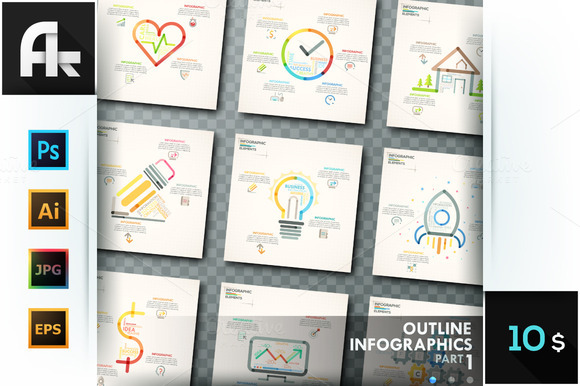 Outline Infographics Part 1