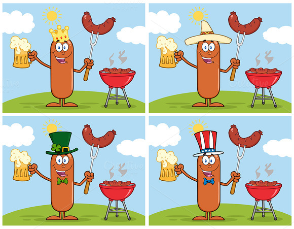 Sausage Character Collection 9
