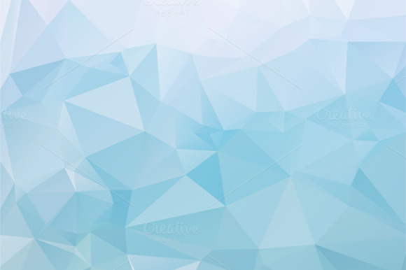 12 Low Poly Vector Backgrounds