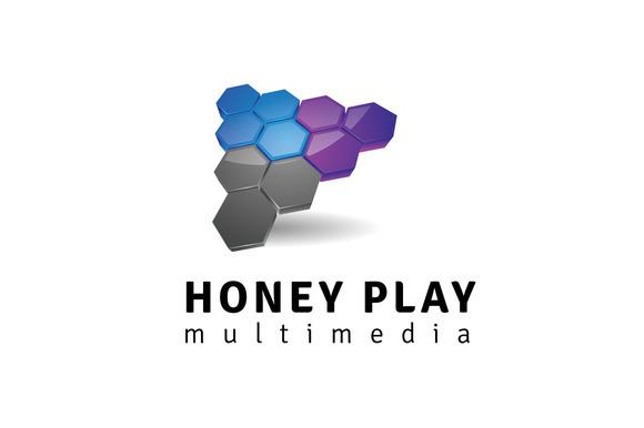 Honey Play Logo Template