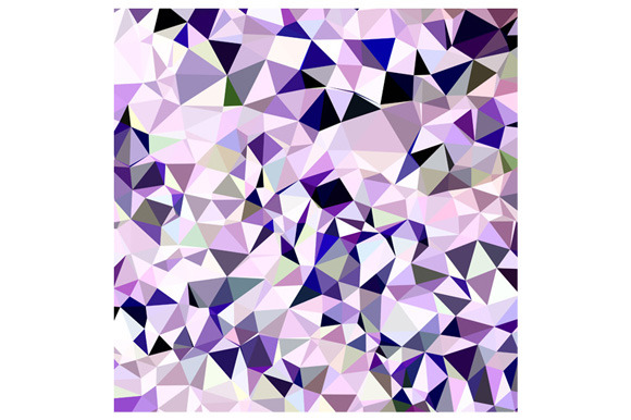 Blue Violet Abstract Low Polygon Bac