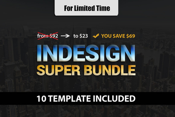 Indesign Super Bundle