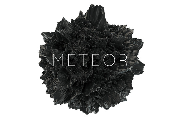 12 Meteor Abstract Shapes