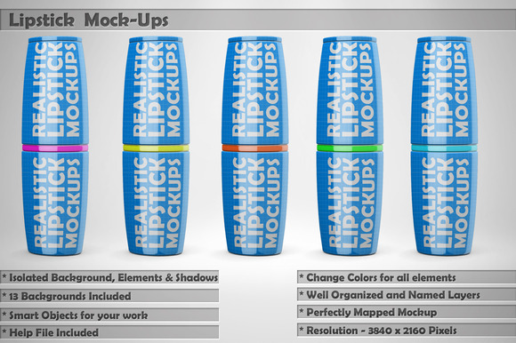 Lipstick Mockups