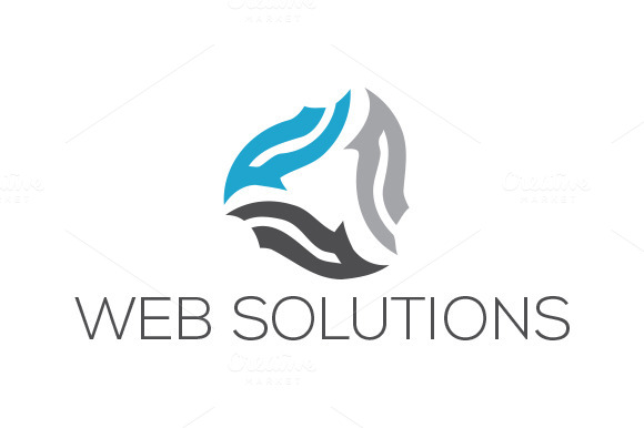 Web Solutions Logo Template
