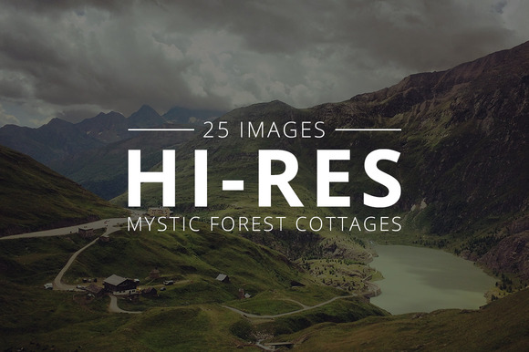 Mystic Cottages Pack 25 Images