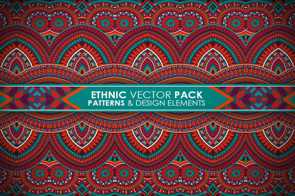 Ethnic Vector Pack