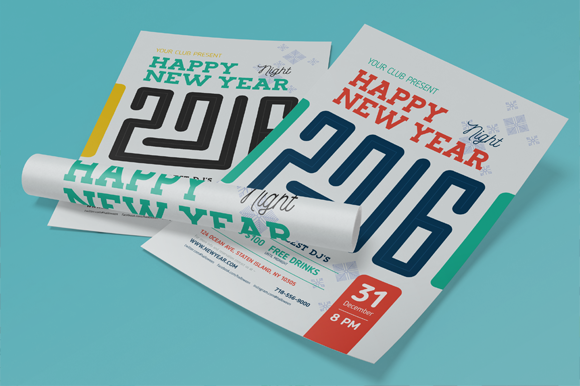 2016 New Year Poster