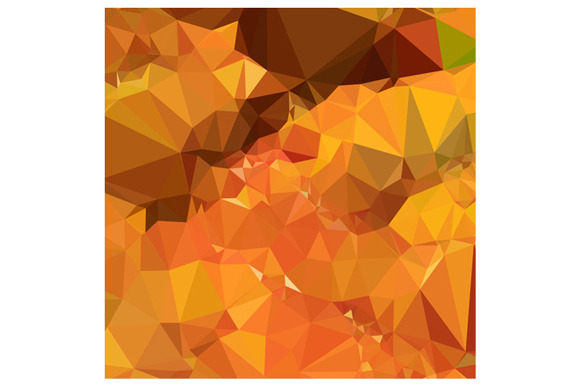 Harvest Gold Abstract Low Polygon Ba