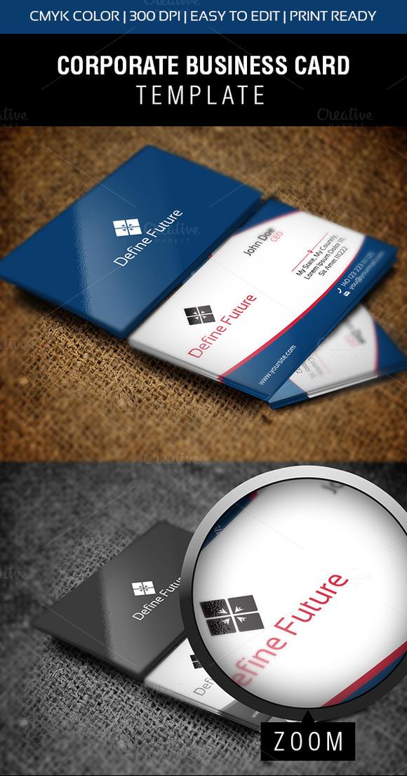 Define Future Business Card