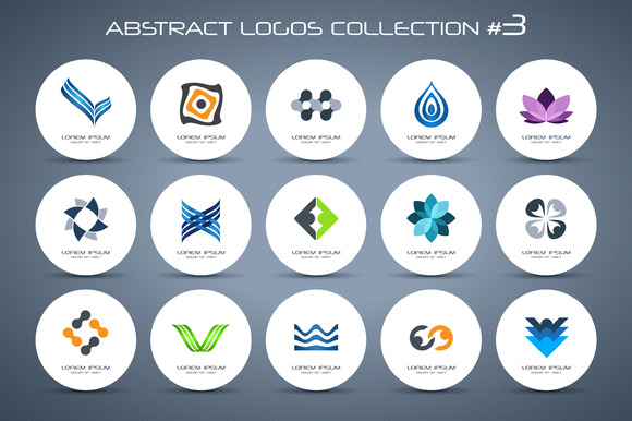 Abstract Logos Collection #3