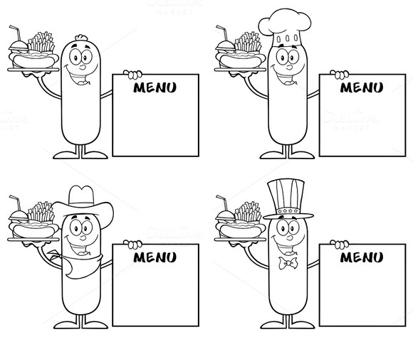 Sausage Character Collection Set 5