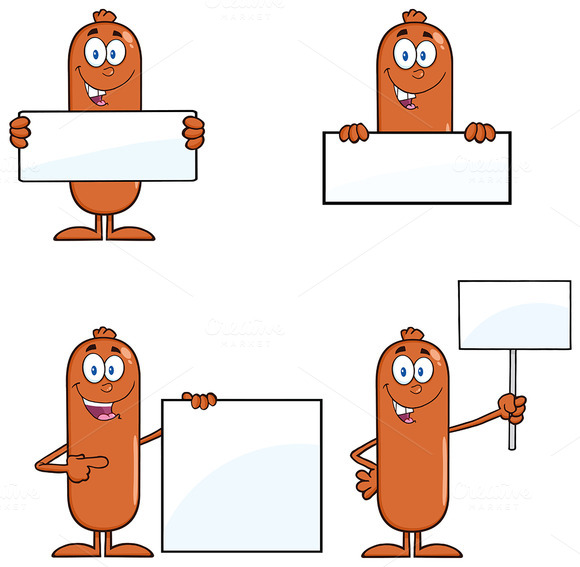 Sausage Character Collection 2