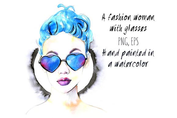 A Fashion Woman