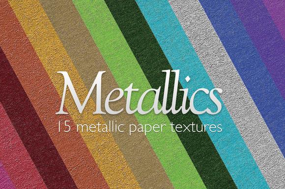 Metallics Paper Textures