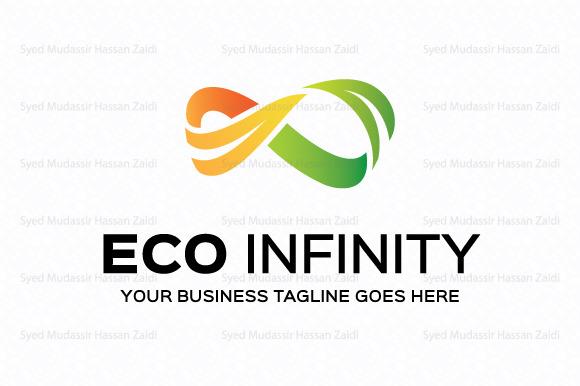 Eco Infinity Logo Template