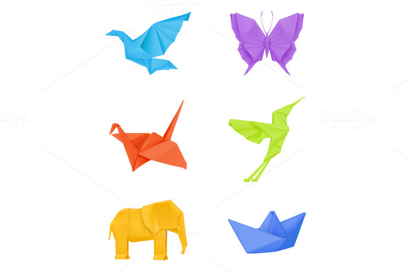 Origami Vector Illustration