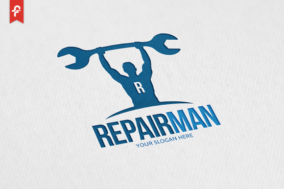 Repair Man Logo