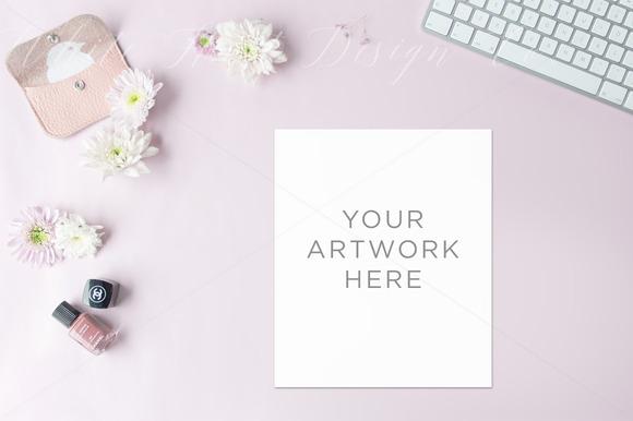 Desktop Background Mock Up