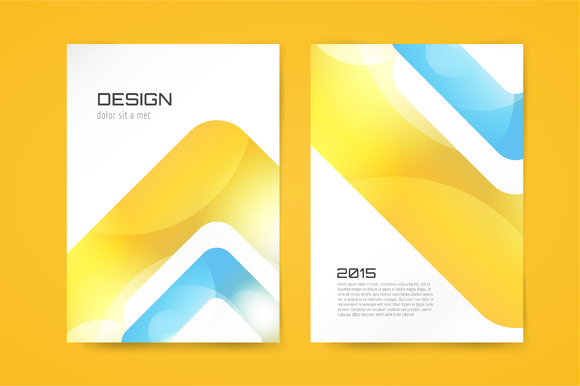 Vector Globe Arrow Brochure Template