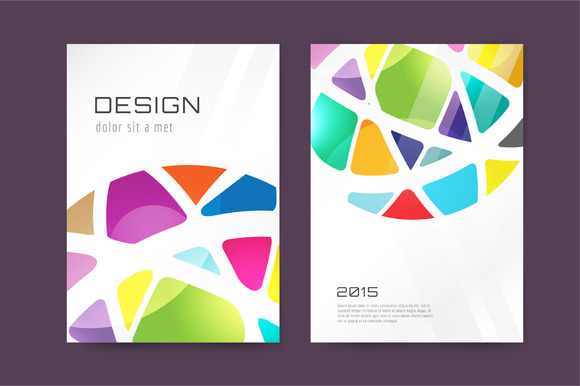 Vector Globe Brochure Template