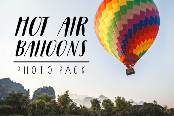 Hot Air Balloons Photo Pack