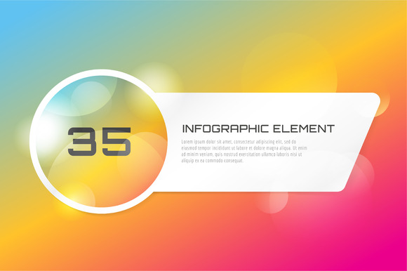 Web Banner Infographic Template