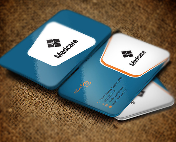 Madcare Business Card