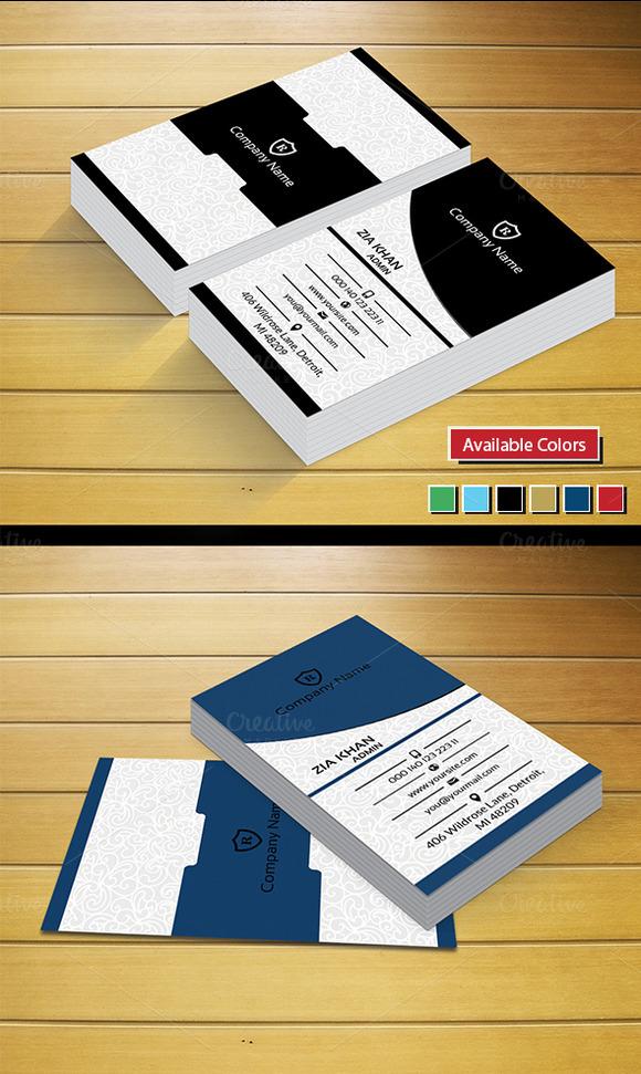 Modren Stylish Business Card