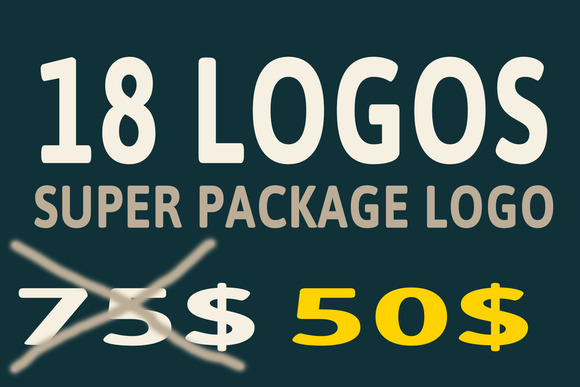 MEGA BUNDLE 18 LOGOS SINGLE PACKAGE