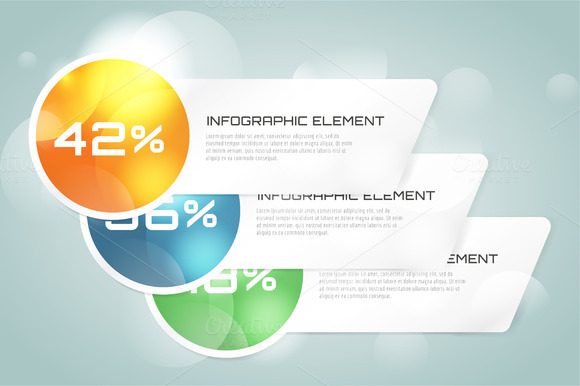 Web Banner Infographic Template Set