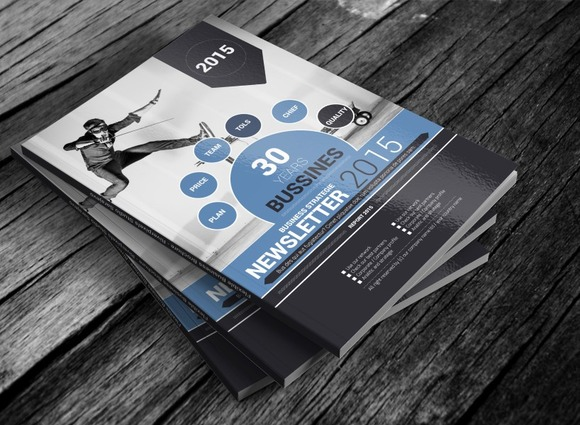 Flexible Magazine Template