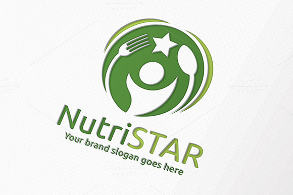 Nutrition Star Food Logo