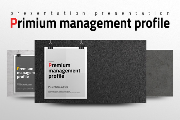 Premium Management Profile