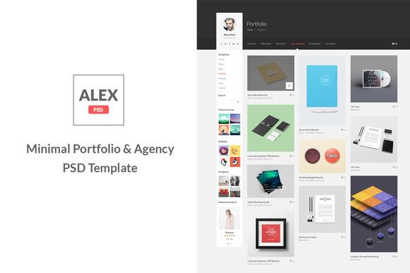 Alex Minimal Portfolio Agency