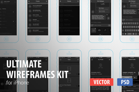 Ultimate Wireframes Kit