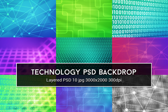 Technology PSD Background