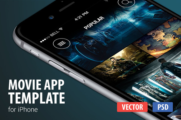 Movie And Tv App Template