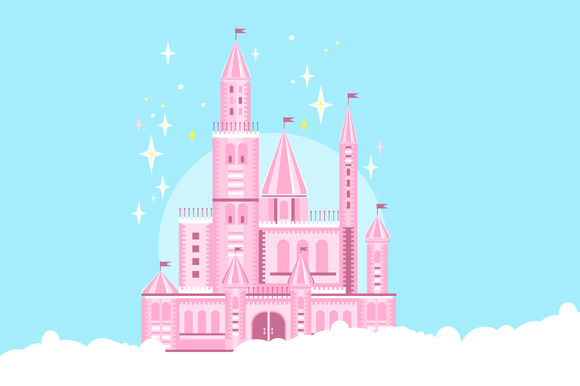 Cute Pink Castle